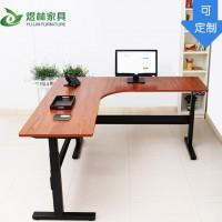 智能电动升降桌 升降电脑桌 升降职员桌 电脑办公桌 工厂直销