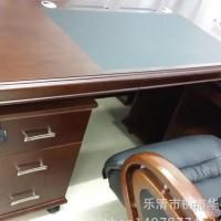 泰州苏州办公家具卓瑞老板桌实木大班台主管桌办公桌现代简约