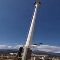 英光河南厂家LED高杆灯、 球场 、园林、 景区25米升降高杆灯