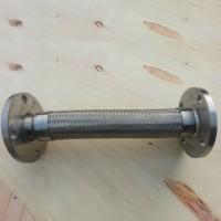恒博   304法兰式金属软管    不锈钢金属软管    金属软管   规格定制  批发